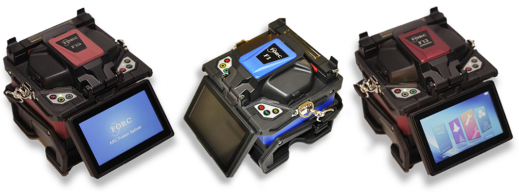 FORC Fiber Fusion Splicer Home Page banner