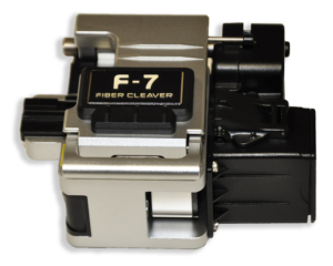 F-7 Fiber Optic Cleaver w auto bin